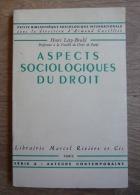 Aspects Sociologiques Du Droit - Droit