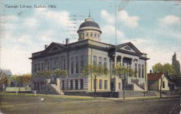 Oklahoma Guthrie Carnegie Library1910 - Guthrie
