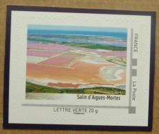LT05 : Salins D'Aigues-Mortes (autocollant / Autoadhésif) - France