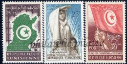 -Tunisie  451/53** - Tunisie (1956-...)