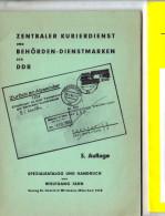Zentraler Kurierdienst & Dienstmarken 1965 Wolfgang Jahn 64 Pag. (c6) - DDR