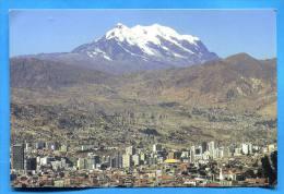 BOLIVIA - LA PAZ - Vista Con Nevado Illimani . Written Without Postmarks - Bolivie