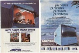1974 - Caravan LAVERDA  -  2 Pagine Pubblicità Cm. 13 X 18 - Camping