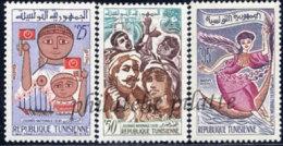 -Tunisie  537/39** - Tunisie (1956-...)
