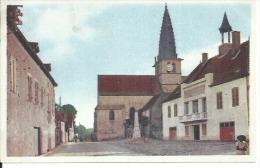 ST-LEGER-SUR-DHEUNE - MAIRIE ET EGLISE ( Animées  ) - Frankrijk