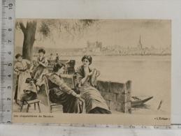 CPA (49) Maine Et Loire - Carte Commerciale Pour Any Frères SAUMUR - Illustrateur Georges Grellet (6 Cartes) - Saumur