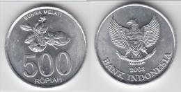 TOP QUALITY **** INDONESIE - INDONESIA - 500 RUPIAH 2003 BUNGA MELATI **** EN ACHAT IMMEDIAT