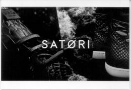 SATORI MODA MODE CARTE PUBLICITAIRE TBE NEW ARGENTINA 2014 - Mode