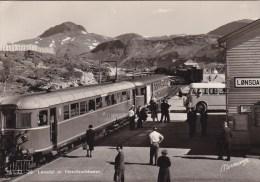LONSDAL  St NORDLANDSBANEN  TREIN AUTOBUS - Norvegia