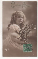 CPA Fantaisie - Enfant - Portrait - Fillette - Portraits