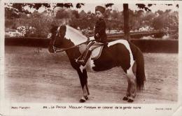 MAROC - Le Prince MOULAY HASSAN En Colonel De La Garde Noire, Gel.193?, 90 C Sondermarke - Non Classés