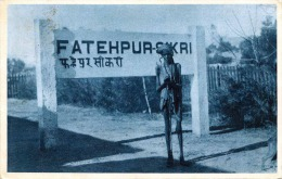 RAR! Indischer Fakir, Karte Gel.1933 Von Indien > Wien - Indien