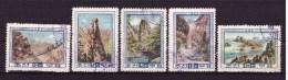 KOREA 1960 Diamant Mountain Yvert Cat N° 252/56 Cpl Set Of 5 - Korea (...-1945)