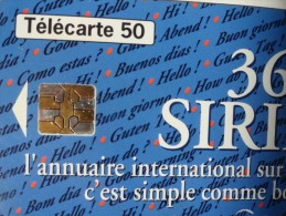 RARE : CARTE 3619 SIRIEL PUCE BICOLORE - Varietà