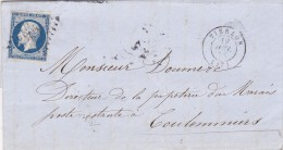 11- Napoléon  14A          CAD  Vierzon  19.7.55   Vers Coulommiers - Poststempel (Briefe)