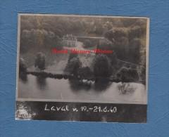 Photo Ancienne Prise Par Un Avion Allemand - LAVAL Ou Environs ( Mayenne ) - 21 Juin 1940 - Guerre, Militaire