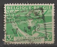 1946 3fr Railway, Belgique-Belgie, Used, - 1942-1951