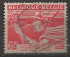 1945 6fr Railway, Belgique-Belgie, Used, - 1942-1951