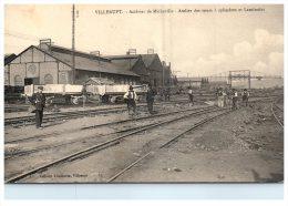 2720 France Villerupt 1914 Acieries  De Micheville Atelier Des Tours A Cylindres Et Laminoirs - Stations Without Trains