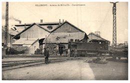 9032 France Villerupt   Acieries De Micheville Convertisseurs Locomotive - Trains