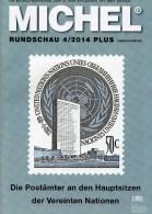 MICHEL Briefmarken Rundschau 4/2014 Plus Neu 6€ New Stamps World Catalogue And Magacine Of Germany ISBN 4 194371 105009 - USA