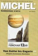Briefmarken Rundschau MICHEL 3/2014 Neu 6€ New Stamps Of The World Catalogue And Magacine Of Germany ISBN4 194371 105009 - Deutsch