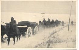 ALLEMAGNE - Munitionswagen Im Schneesturm - Allemagne