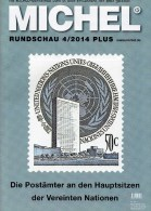 MICHEL Briefmarken Rundschau 4/2014 Plus Neu 6€ Katalogisierung Stamp/coin Of The World Catalogue And Magacin Of Germany - Creative Hobbies