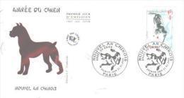 PARIS  L´année Du Chien  21/01/06 - Chines. Neujahr