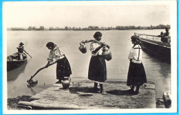 Hungary. Mohacs. The Girl Water-carrier At Donau River. - Europe