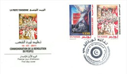 Tunisia/Tunisie 2011 - Immortalizing The People´s Revolution - Tunesië (1956-...)