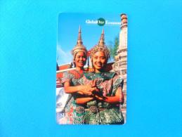 ASIAN DREAMS ( Switzerland GlobalOne Prepaid Card ) Elephant GSM Remote Prepayee Carte Suisse Schweiz Svizzera - Switzerland