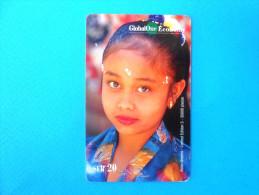 ASIAN DREAMS - India ( Switzerland GlobalOne Prepaid Card ) Elephant GSM Remote Prepayee Carte Suisse Schweiz Svizzera - Switzerland