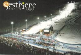 SKI ALPIN-ALPINE SKIING-SCI ALPINO, ITALY, 2009, Special Postmark !! - Skiing