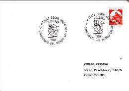 SKI ALPIN-ALPINE SKIING-SCI ALPINO, ITALY, 1998, Special Postmark !! - Ski