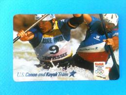 US CANOE And KAYAK Team  ( Usa AT&T Prepaid Card ) Kayaking Kayac Kajak Kayacing Kajaking Canoeing Canoa Paddel Kanu - United States