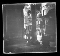 V1680 - ITALIE - VENISE - Intérieur Cathédrale Saint Marc - Plaque Photo Originale à Ne Pas Manquer - Plaques De Verre