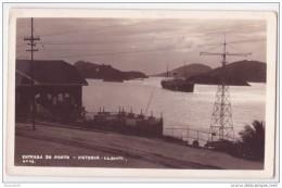 Victoria - Vitoria - Entrada Do Porto - Wessel Real Photo Cca. 1940 - Vitória
