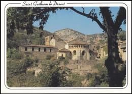 34 SAINT_GUILHEM_LE_DESERT - L' EGLISE Ou L'ABBATIALE DE GELLONE - France