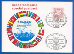 Deutschland; PC; Bauma 89 Baumaschinen München 1989 - Weltausstellung