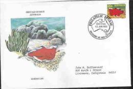 AUSTRALIA FDC MARINE LIFE AAD9951 - Vie Marine