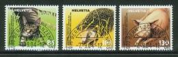 Suisse /Schweiz/Svizzera/Switzerland/2004/protection Des Animaux / No. 1130-1132 - Used Stamps