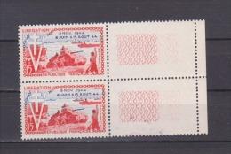 FRANCE / 1954 / Y&T N°  983 ** (2 TP En Paire) : Libération - Gomme D´origine Intacte - France