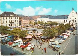 Landau: 2x OPEL REKORD P2, 2x VW 1200, 2x VW T1-BUS, DKW JUNIOR, RENAULT 4 & 16, FORD TRANSIT, P1 & P3 - Markt  - (D) - Voitures De Tourisme