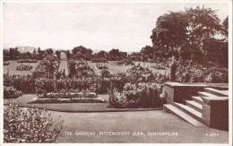 The Gardens, Pittencrieff Glen, Dunfermline, Scotland - Valentine's Used 1946 - Fife