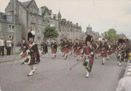 Highland Pipers, Scotland - Banks Photography P197, Posted 1998 - Scotland