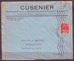 EXPOSITION COLONIALE INTERNATIONALE  PARIS 1931 50c  Rouge Sur Lettre KRAG  5.L.O. LA ROCHE S YON 1931 - France