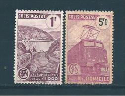 Frace Timbres Pour Colis Postaux De 1944/45   N°216A Et 217A  NSG - Parcel Post