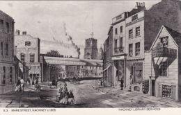 HACKNEY - MARE STREET 1855. REPRINT - London Suburbs