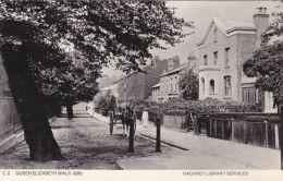 HACKNEY -QUEEN ELIZABETH WALK 1890. REPRINT - London Suburbs